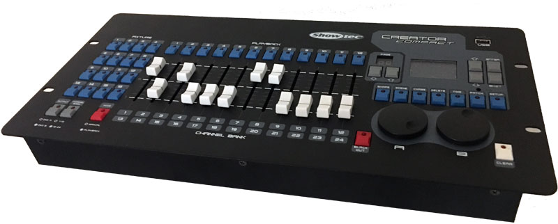 DMX lighting controllers
