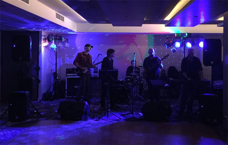 Band lighting hire