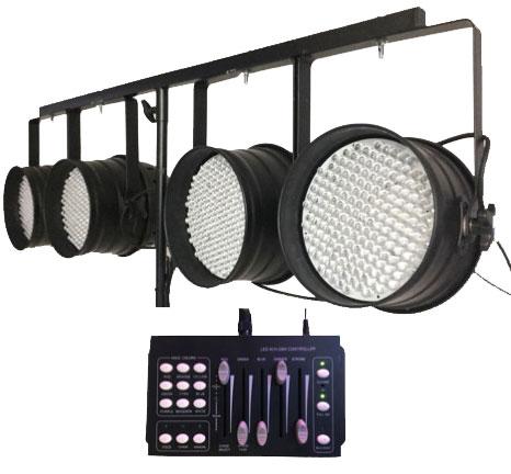 PAR64 sets with controller