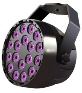 LED UV wash light
