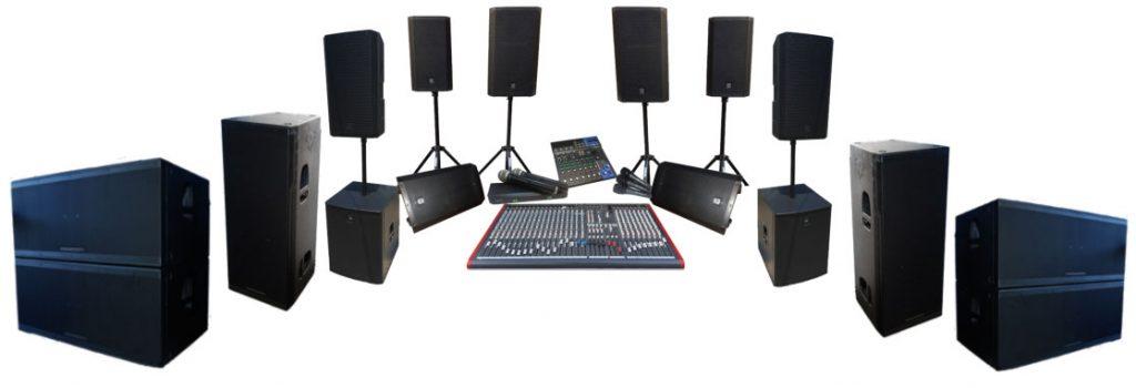 Powered Speaker Hire