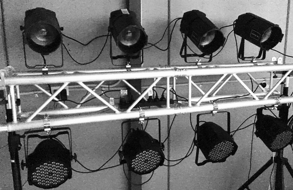 truss lighting rig hire Sydney