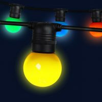 Coloured Festoon Lights