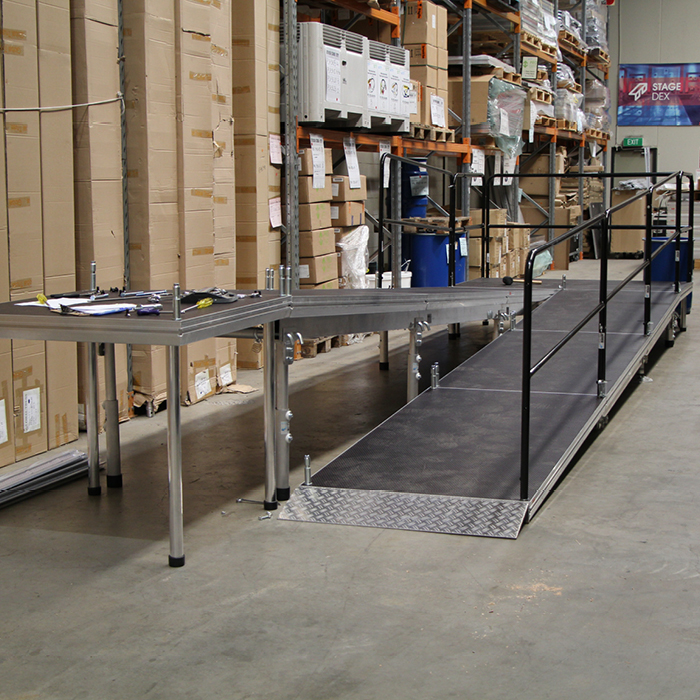 Stage Wheelchair Access Ramp