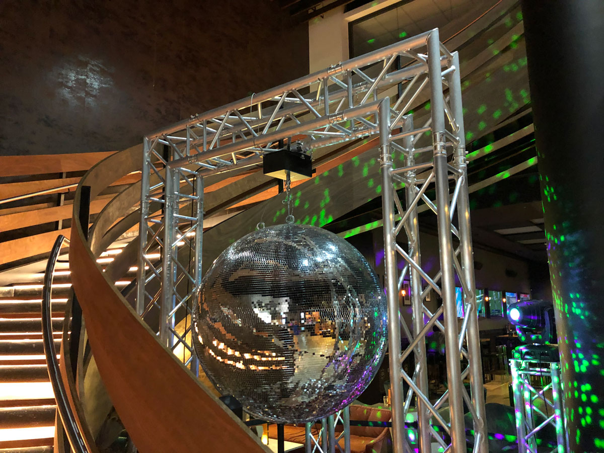 disco ball hire