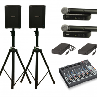 Portable PA performer pack