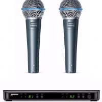 Shure Beta58A & BLX88 Bundle